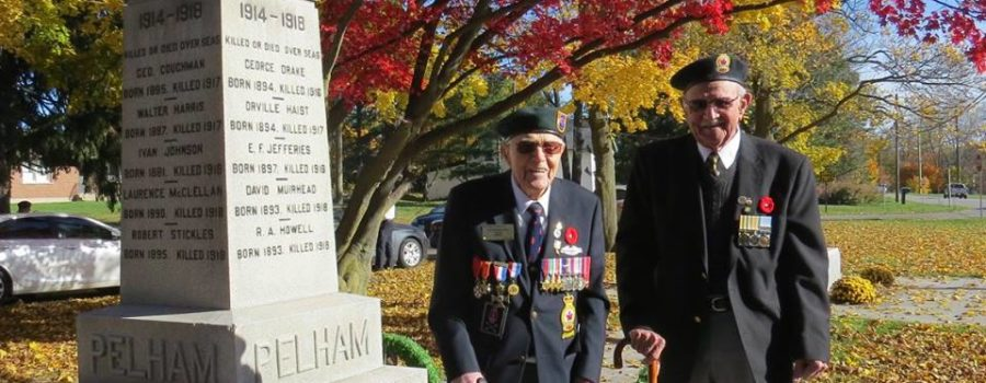 Remembrance Ceremonies 2016